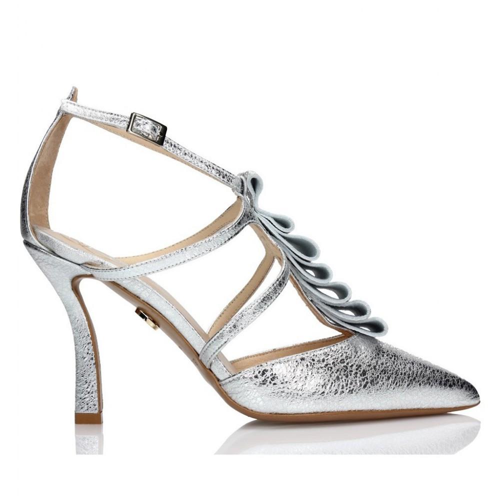 477e932b Sandały srebrne • BALDOWSKI oficjalna strona