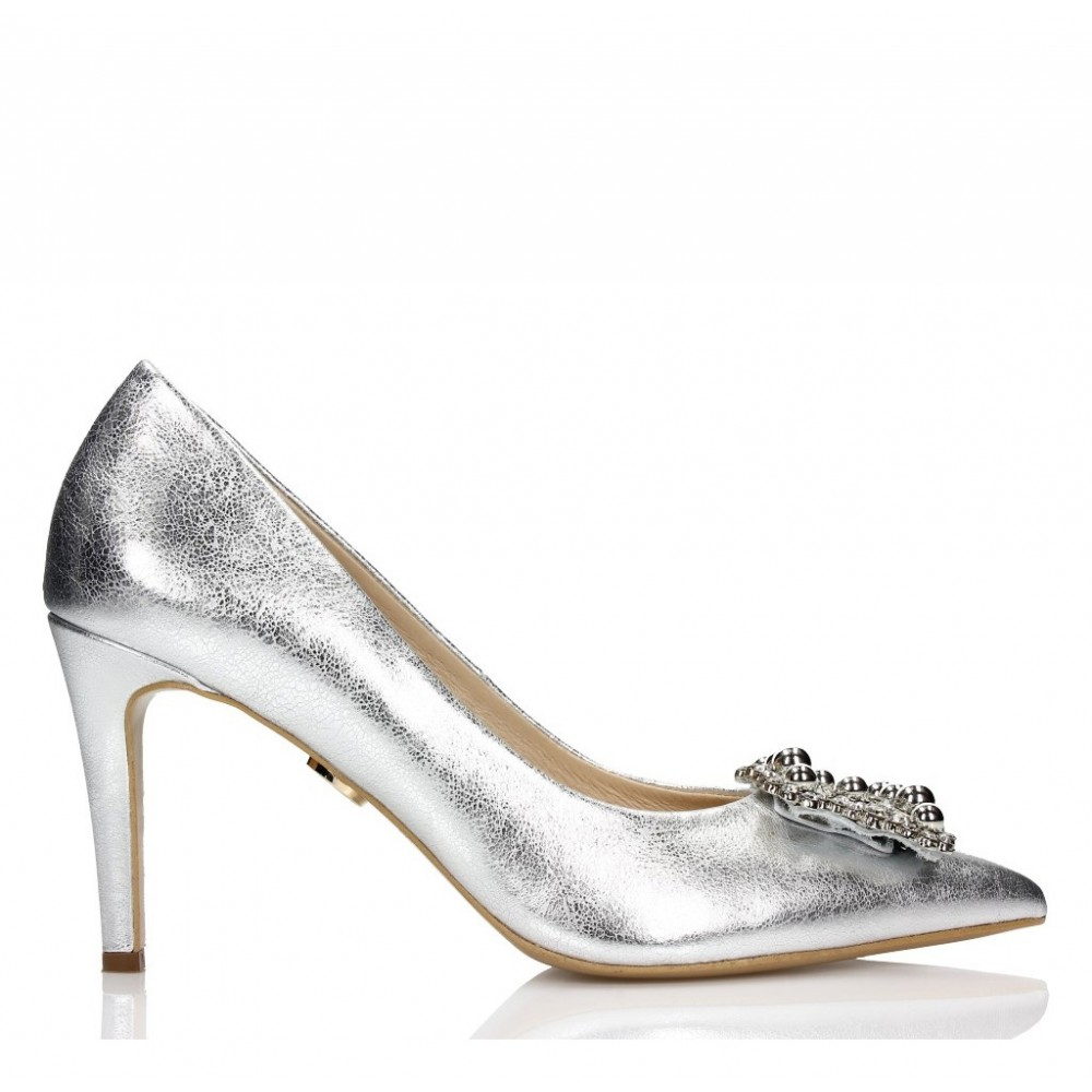 Silver Wedding Shoes.Silver Wedding Heels